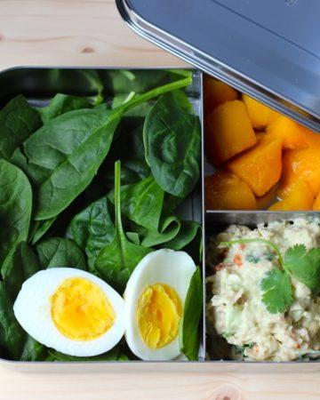 Avocado Tuna Salad Lunch - Healthy Tuna Salad