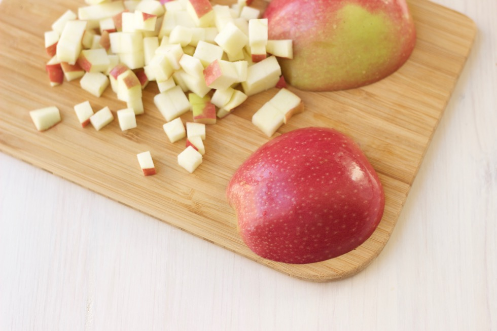 Chopped Apples Marisa Moore Nutrition