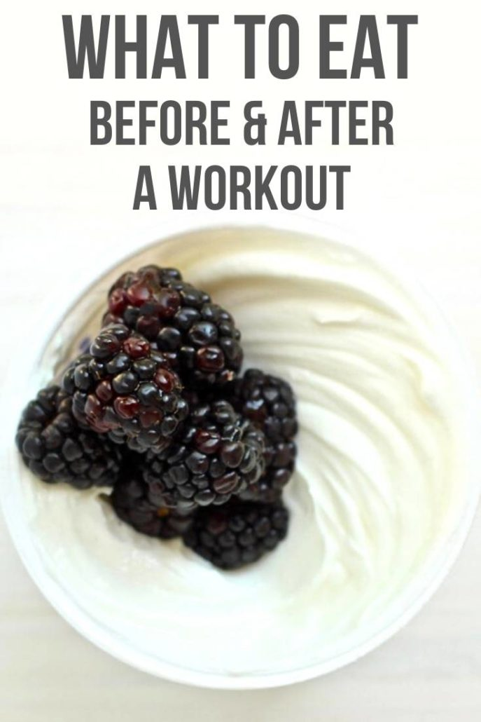 blackberries in greek yogurt