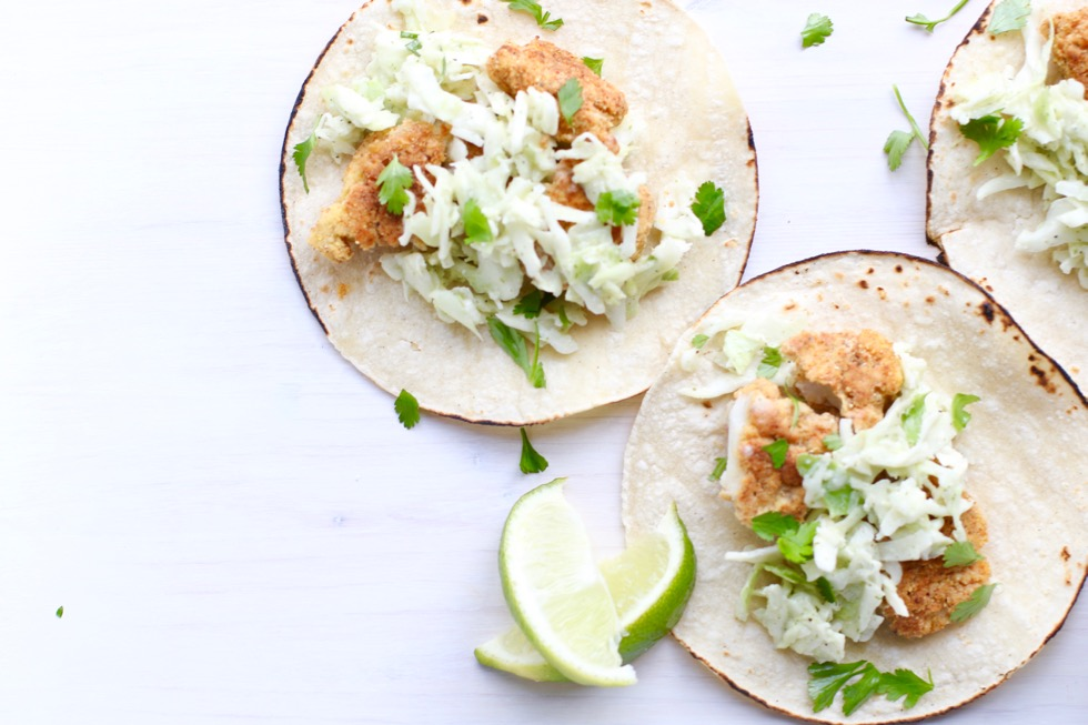 Crispy Cod Tacos