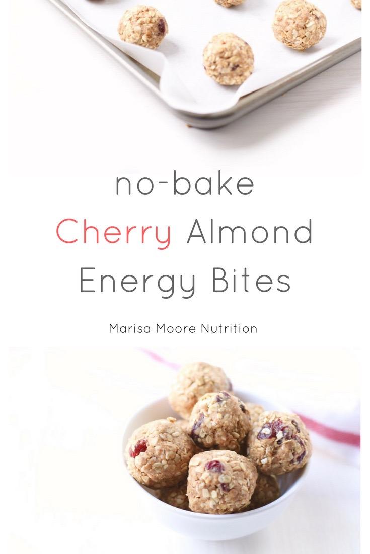 Cherry Almond Energy Bites