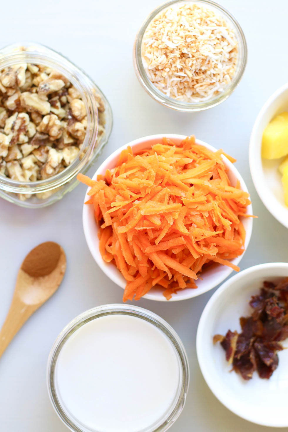 Carrot Pineapple Smoothie Ingredients