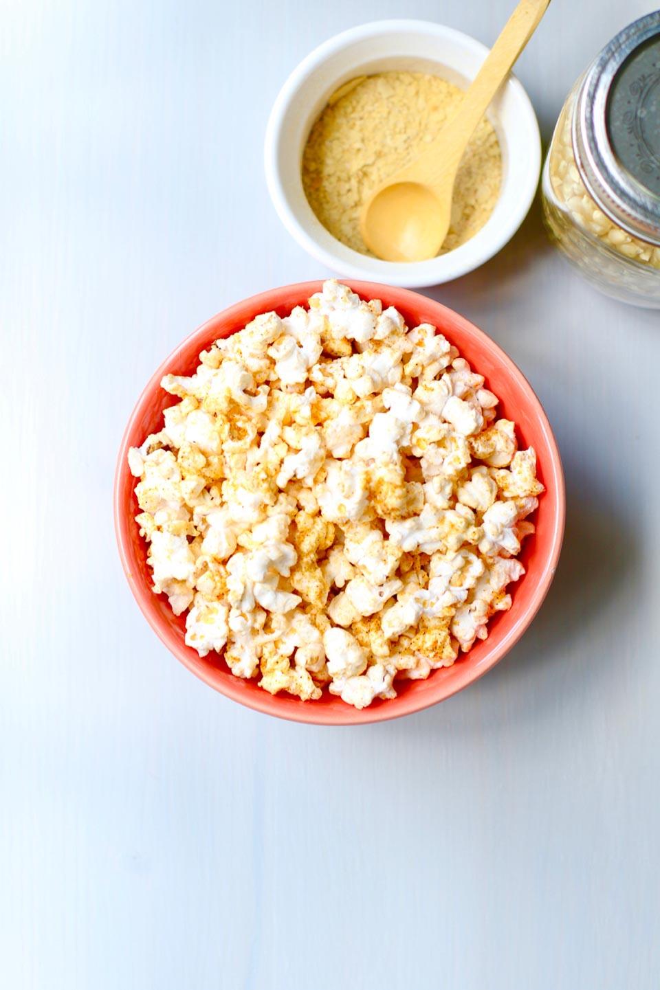 Chili Cheese Popcorn - Nooch Popcorn