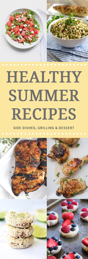 Healthy Summer Recipes Cookout