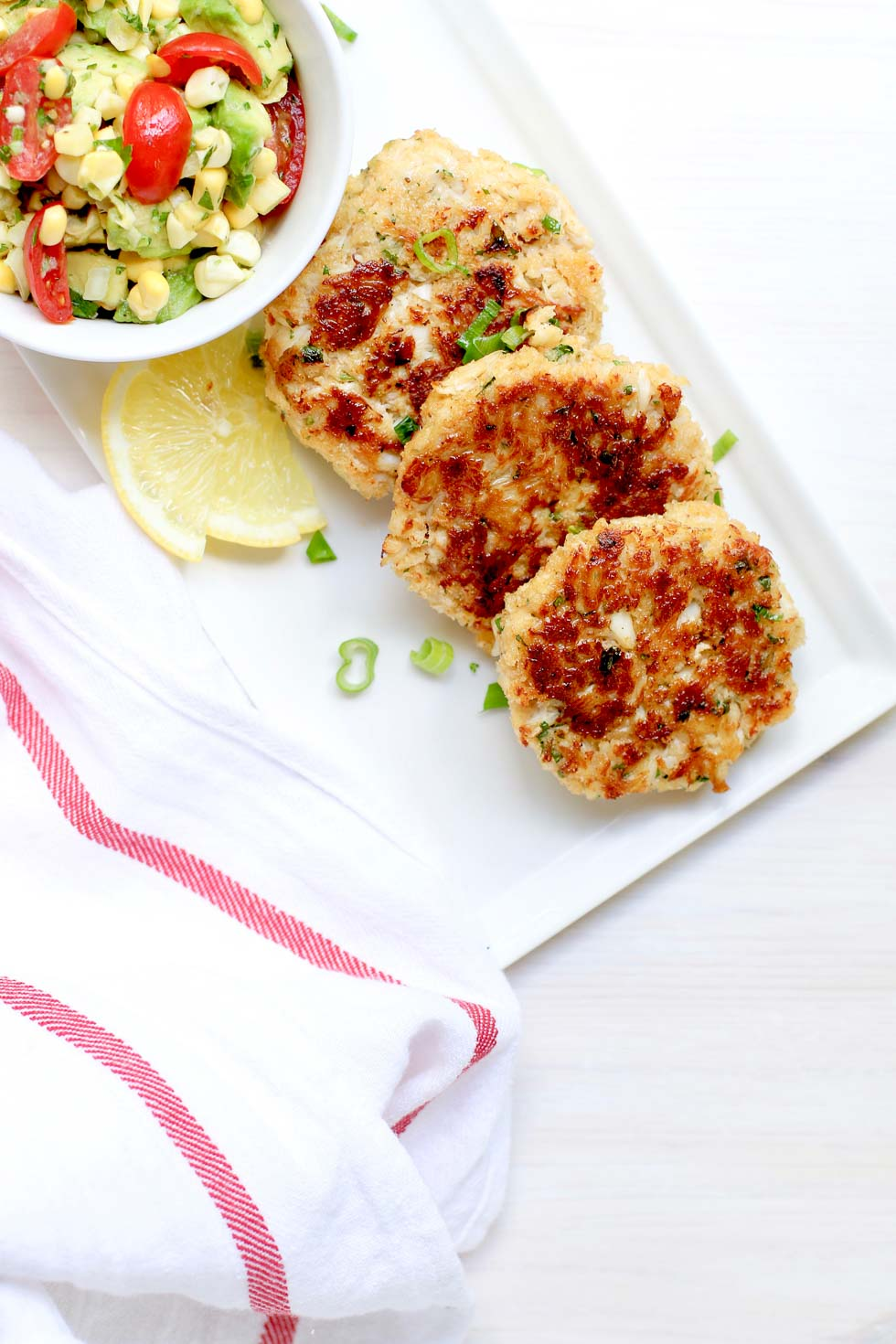 Healthier Crab Cakes Recipe