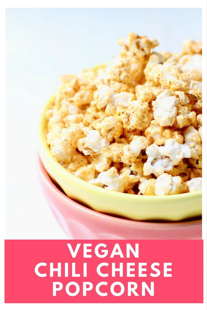 Vegan Chili Cheese Popcorn - Nooch Popcorn