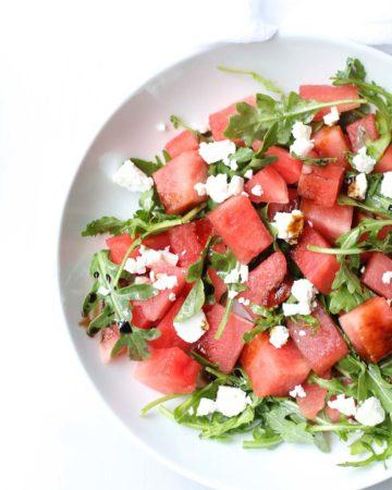 Watermelon Feta Salad - Healthy Salads
