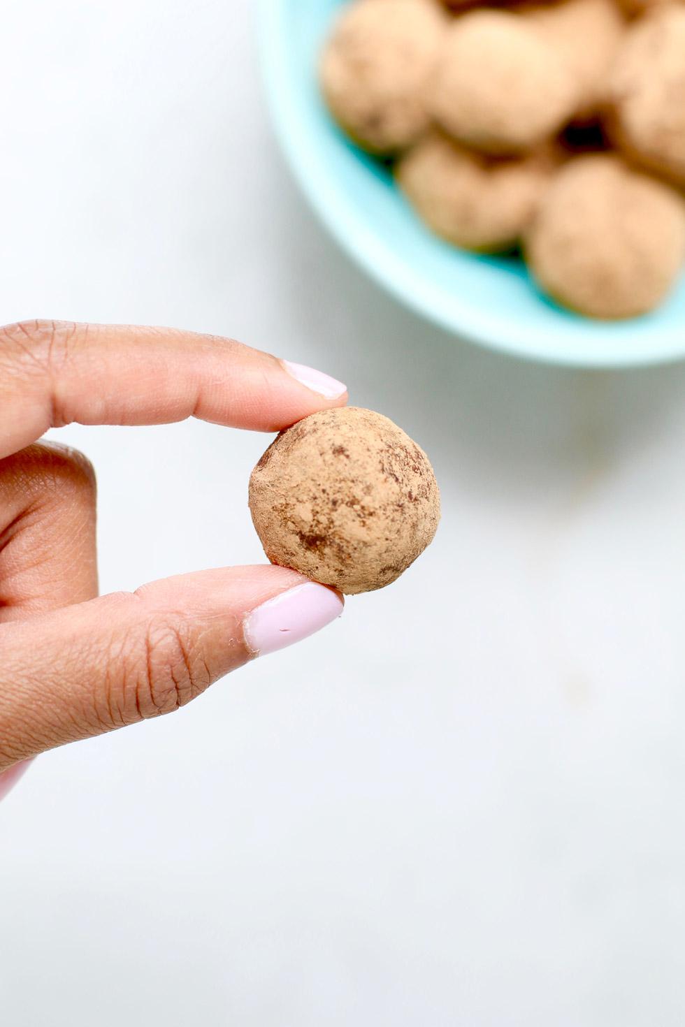 Chocolate Almond Truffles