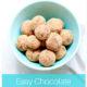 Easy Chocolate Almond Truffles