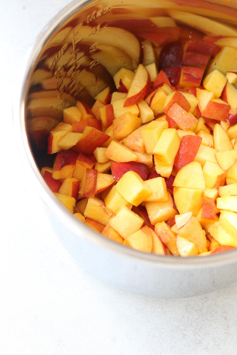 how to make peach jam at home