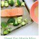 Sheet Pan Maple Miso Glazed Salmon & Broccoli