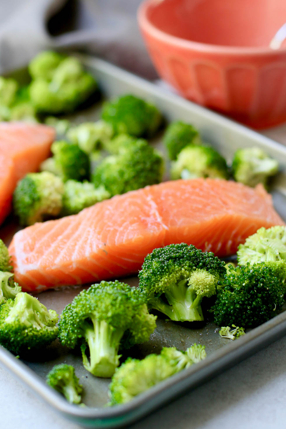 Sheet Pan Maple Miso Salmon Recipe