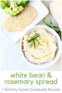 White Bean Rosemary Spread