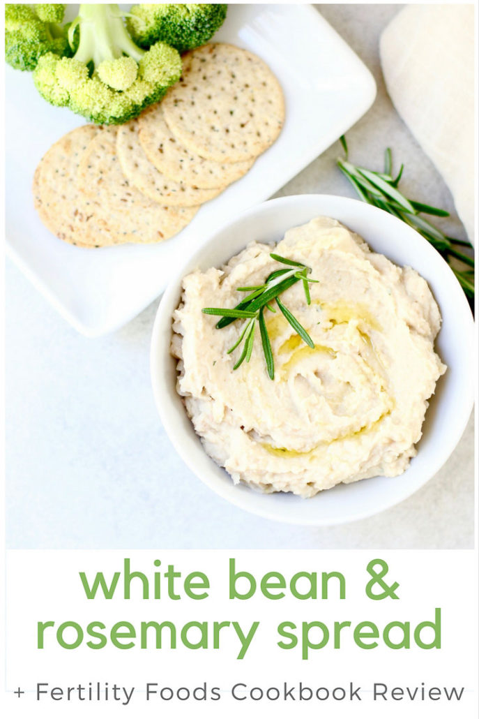 White Bean Rosemary Spread