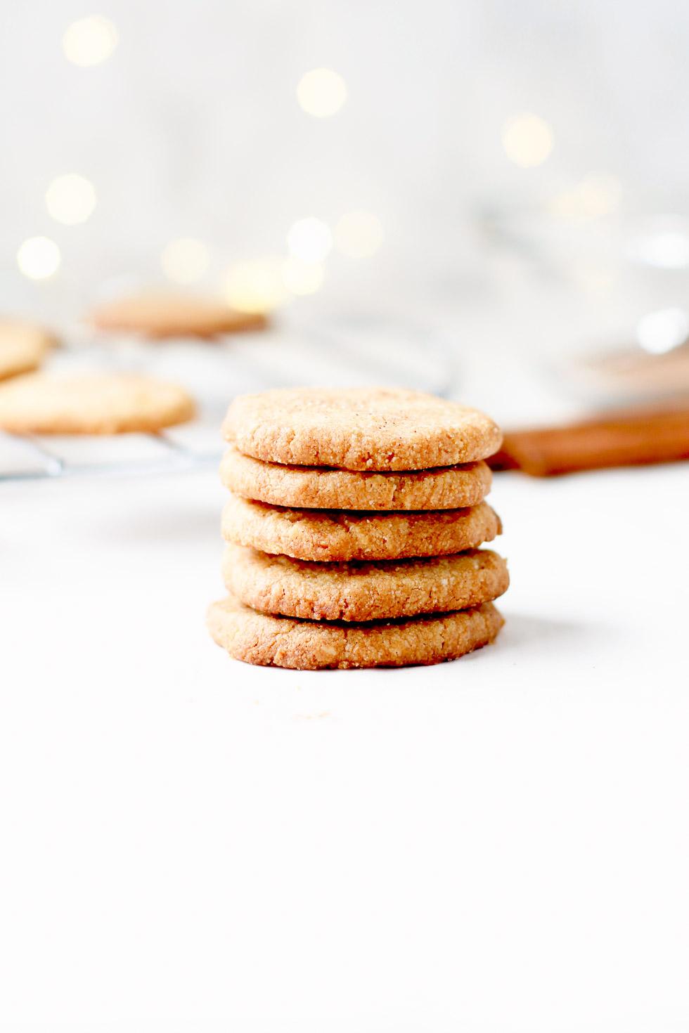 Gluten-Free Brown Sugar Shortbread Cookies
