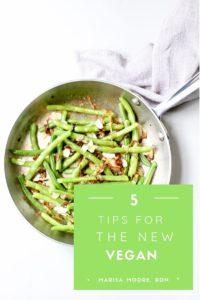 5 tips for the new vegan