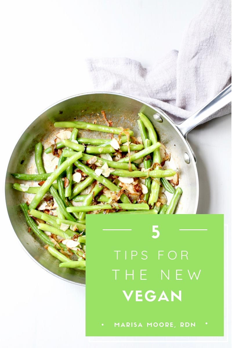 5 tips for the new vegan