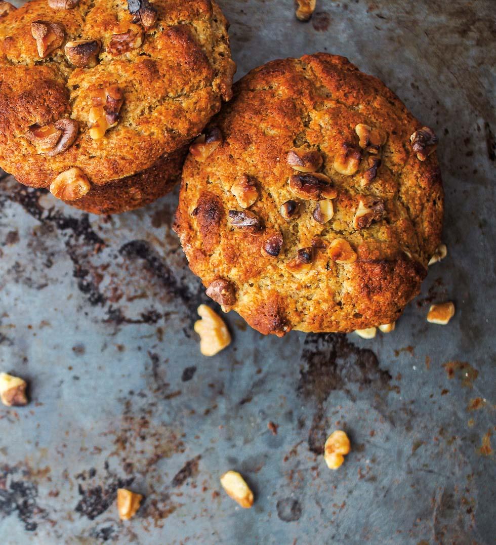Quinoa Banana Nut Muffins