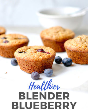 Blender Blueberry Muffins