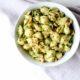 Chickpea Walnut Pesto Pasta Overhead