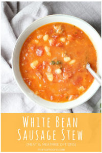 White Bean Sausage Stew