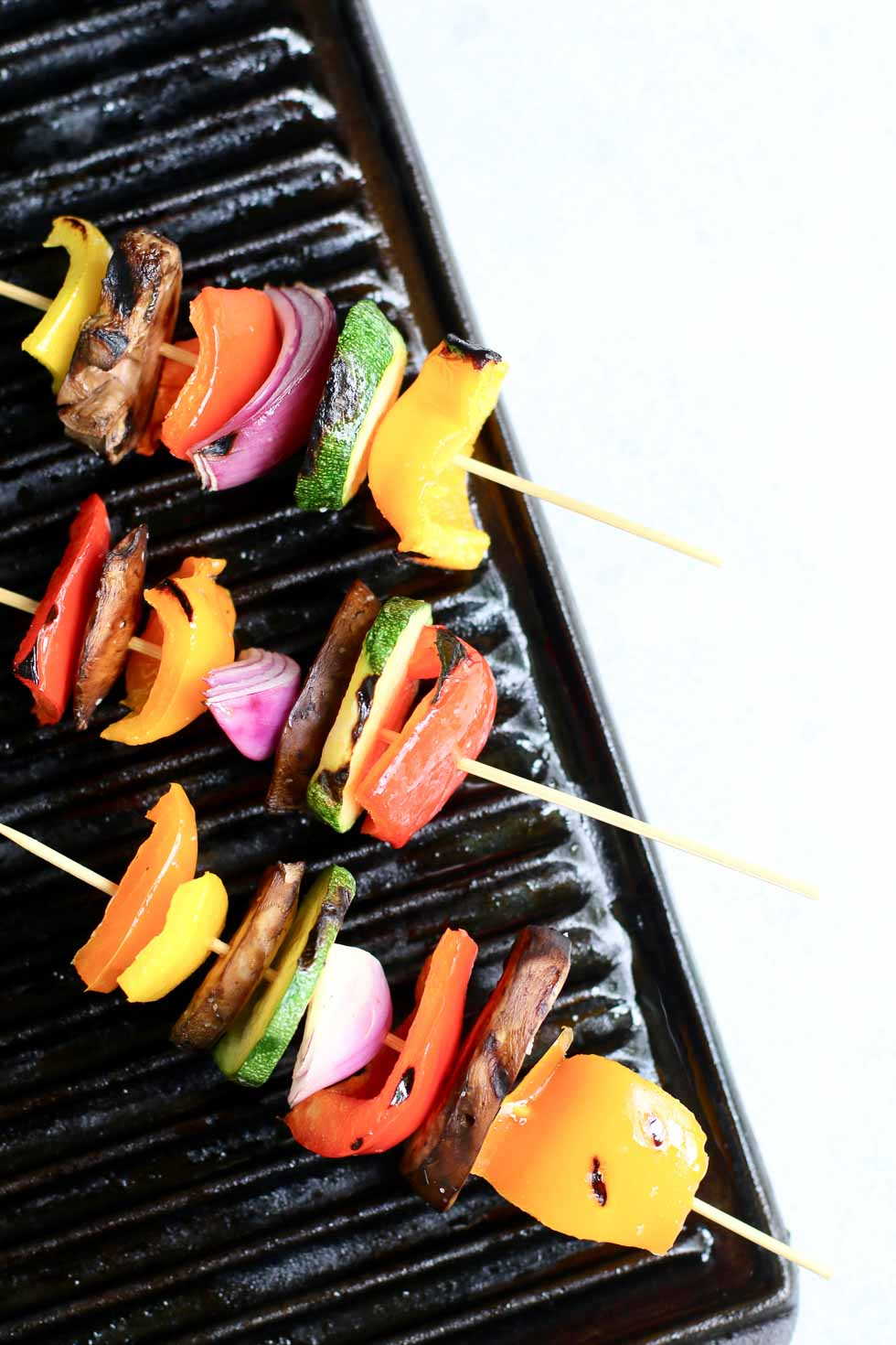 Summer Vegetables on a grill