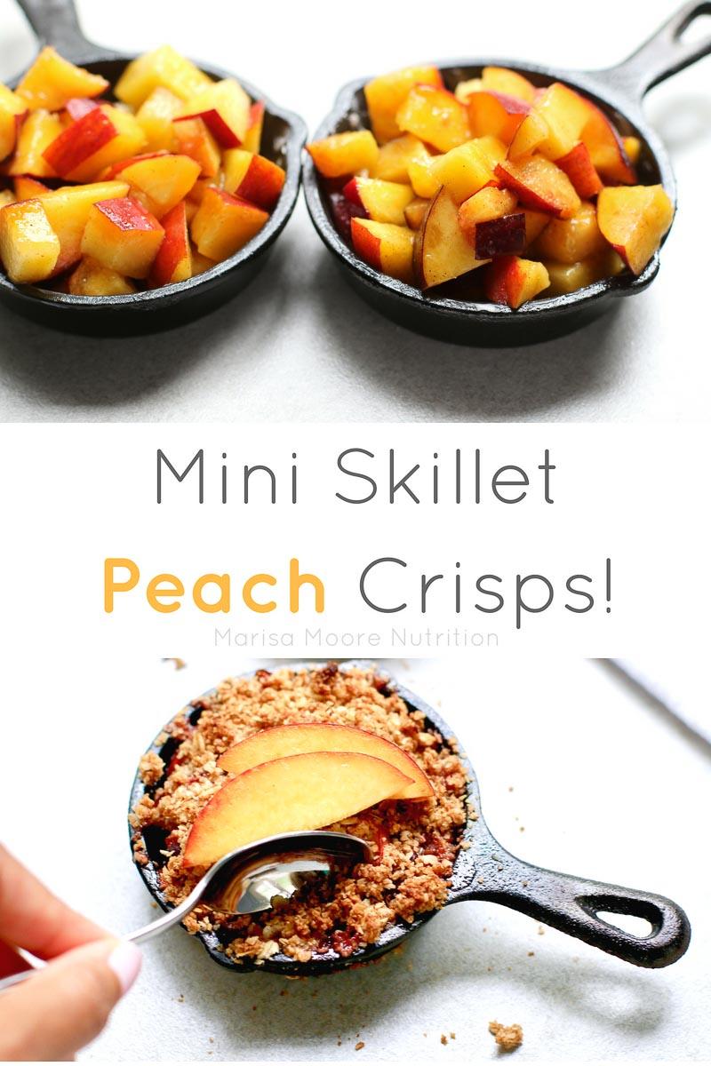 Skillet Peach Crisp PIN