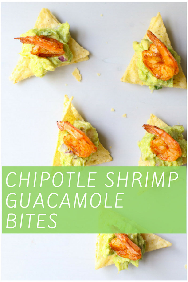 Shrimp and Guacamole Appetizer Pin