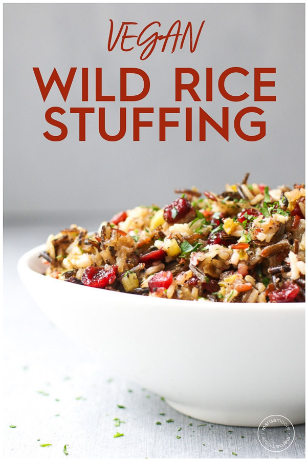 Vegan Wild Rice Stuffing PIN