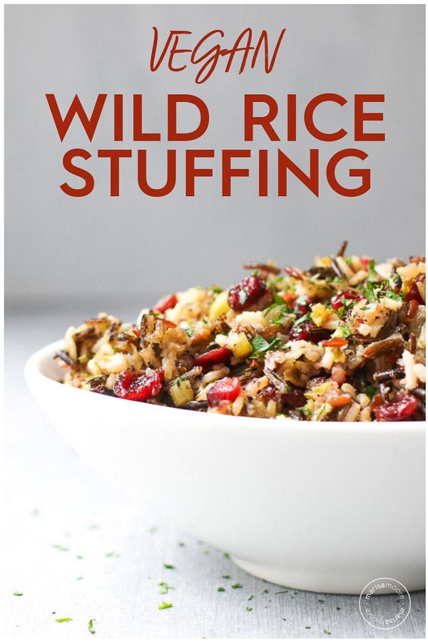 Vegan Wild Rice Stuffing PIN