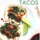 Barbeque Salmon and Kale Tacos on a plate
