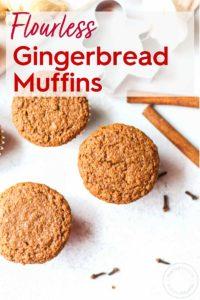 Vegan Gingerbread Muffins