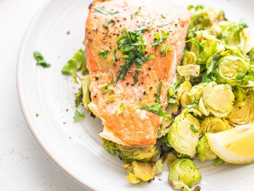 Maple Mustard Salmon Nourish nutrition Blog