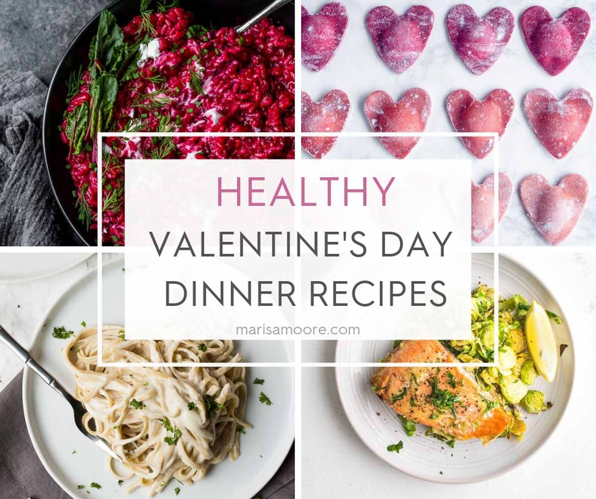 Healthy Valentine's Day Dinner Recipes