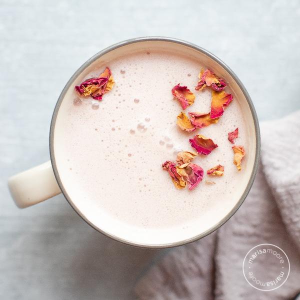 herry Almond Moon Milk Recipe