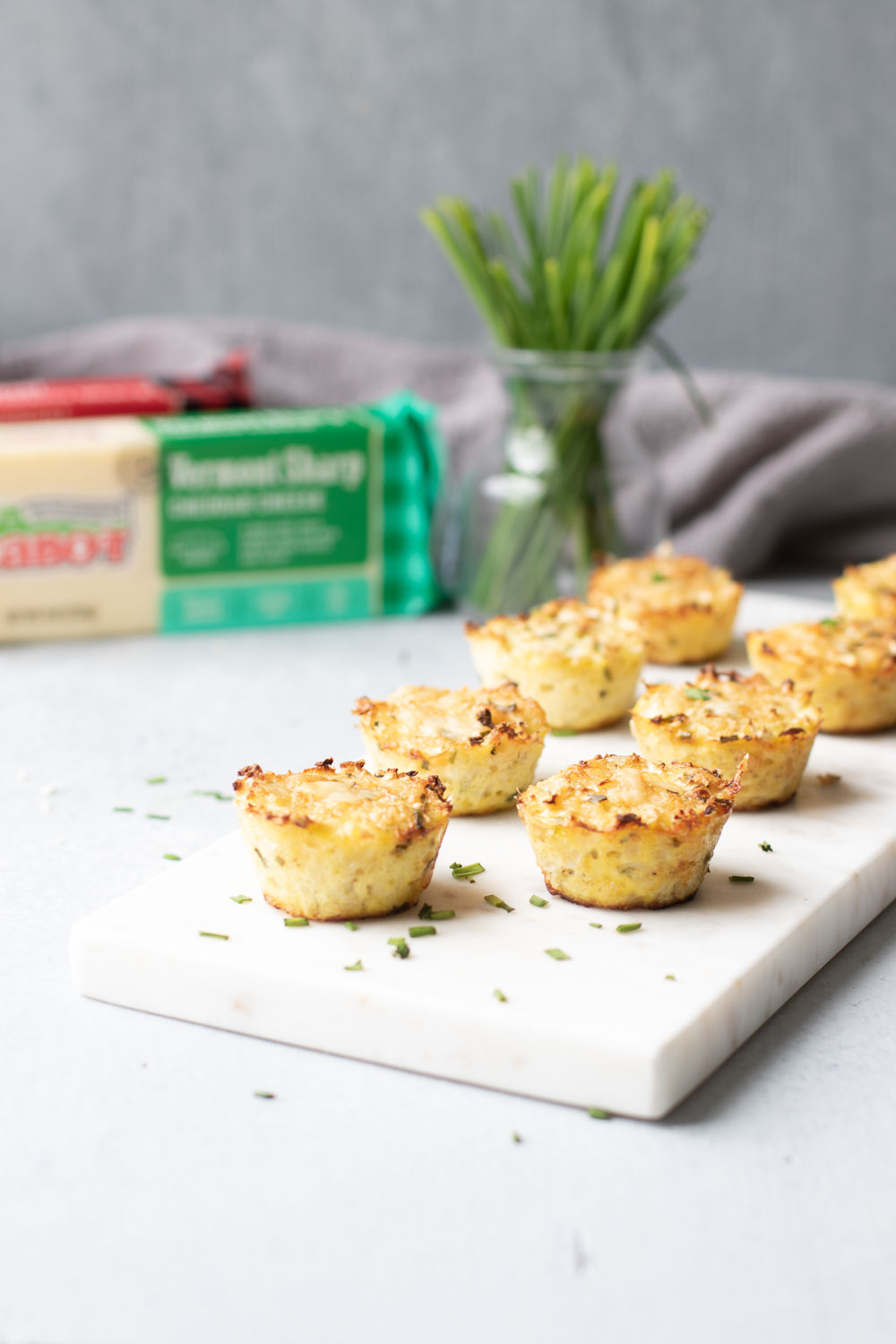 Cabot White Cheddar with Cauliflower Bites Vertical