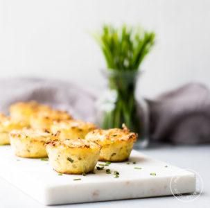 Cheddar Cauliflower Bites Recipe