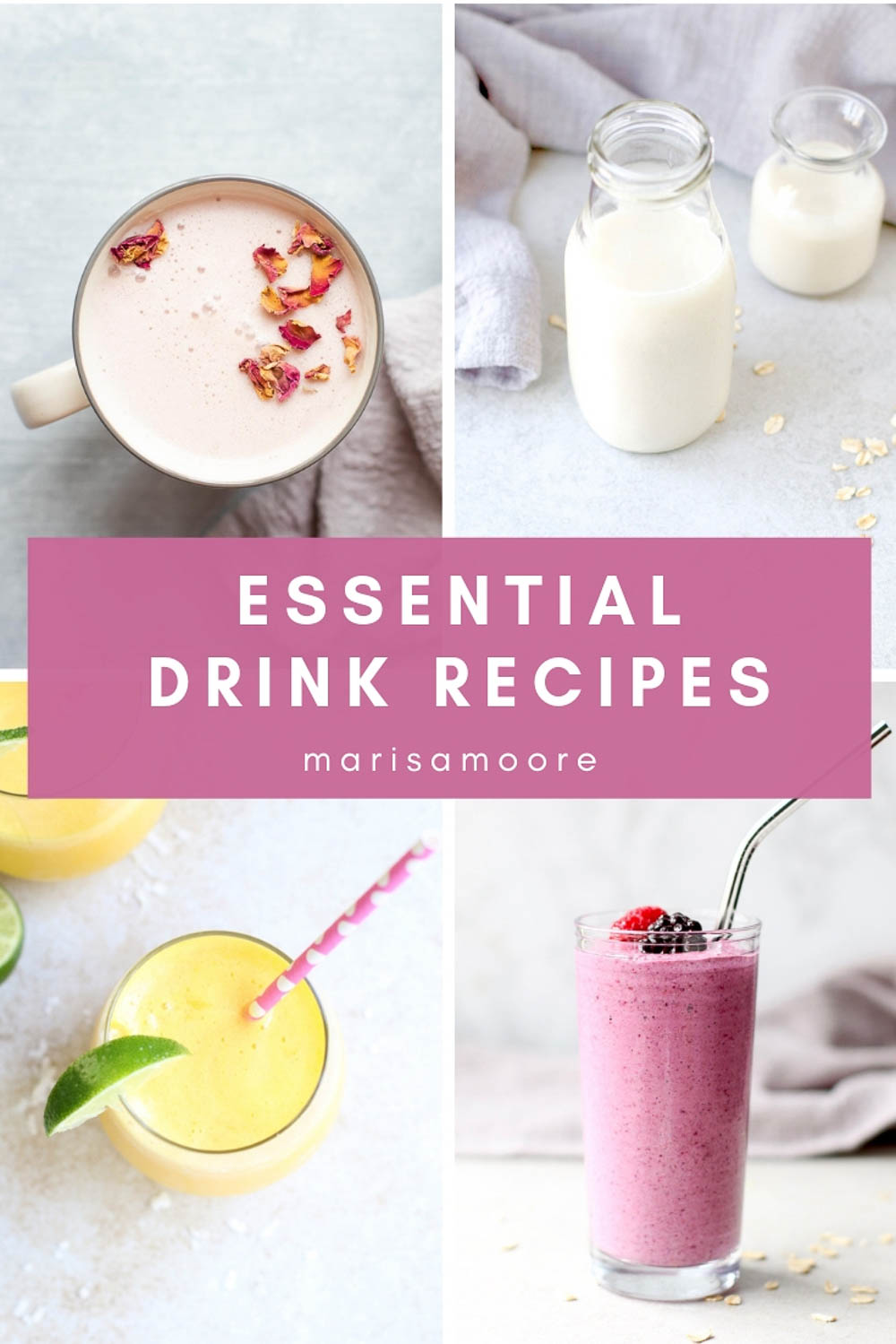Essential Drink Recipe Photos