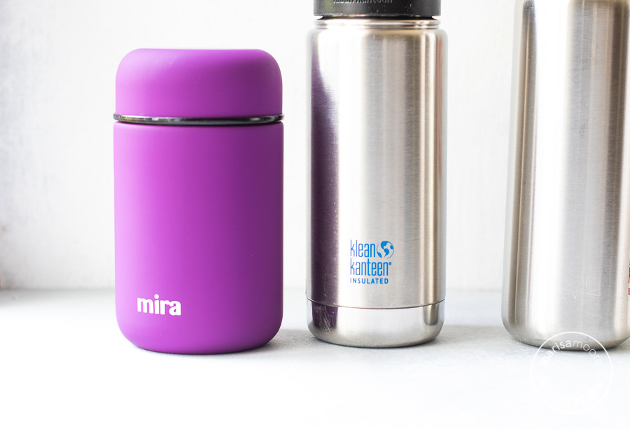 stainless steel food jar and bottle