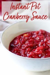 Orange Cranberry Sauce in a bowl