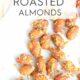 Pesto Roasted Almonds on parchment