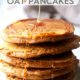 Gingerbread Oat Pancakes