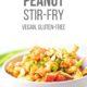 Cauliflower Peanut Stir Fry in a Bowl