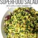 Kale and Quinoa Salad in a white bowl