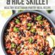 One-Pot Black Bean and Rice Skillet