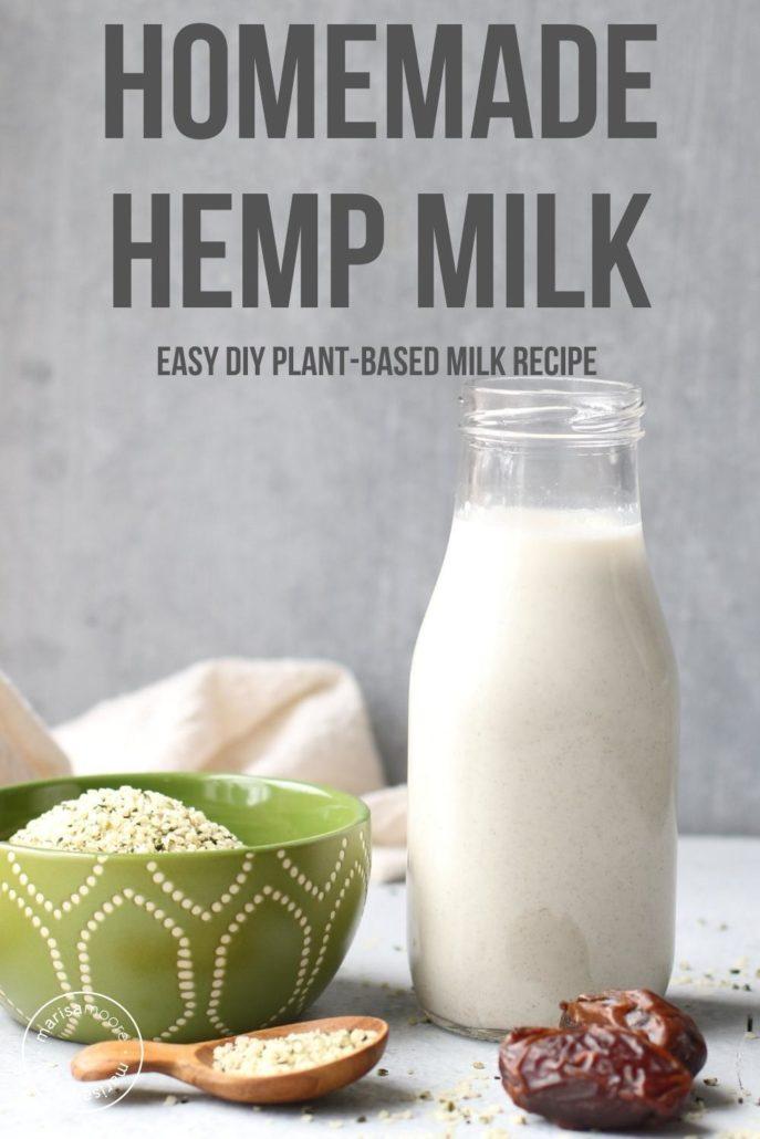 Hemp Milk in a bottle